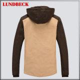 Migliore rivestimento del cotone di svago di vendita per usura di inverno degli uomini