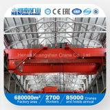 Gru a ponte dell'alta Qualiyt trave con comando a motore di modello di Qd della Cina doppia