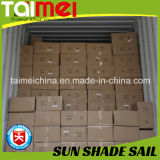 Обработанное ветрило тени Sun PE высокого качества 320GSM/160GSM с UV