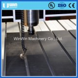Passatempo que anuncia o mini metal de madeira da estaca que grava o router do CNC 6090