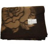Mantas del telar jacquar de las lanas de los yacs del 100%/mantas de la cachemira de los yacs/mantas de las lanas