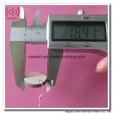 transductor de cerámica piezoeléctrico del transductor ultrasónico piezoeléctrico de la placa 2MHz de 10m m