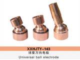 Électrode universelle de bille pour le véhicule