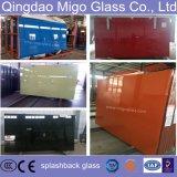 Comitati di vetro induriti colorati della mobilia di stampa della parte posteriore di sicurezza, vetro di Splashback