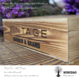 Hongdao Wooden Pesonlized Embalagem Toy Crafts Gift Box_E