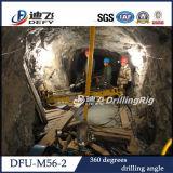 Kleiner beweglicher tiefer Tunnel-Bohrmaschine für Hardrock-Bohrung