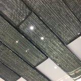 El azulejo cristalino más nuevo del ladrillo de cristal de Brown para la decoración de la pared (superficie lisa)