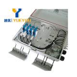 FTTH Caja de Distribucion 16 Fibras 1*8 1*16 PLC Splitter SC/APC Connector Para Mural/Poste
