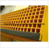 """Решетка FRP/GRP, сетка 1-1/2 """" глубокий x 3/4 """" миниая для строительного материала с высокопрочным"""