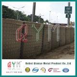 Cesta de Gabion/barrera galvanizadas soldadas de Hesco con precio bajo