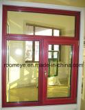 중국 도매 태풍 충격 Windows Windows 또는 열 틈 알루미늄 여닫이 창 Windows (ACW-001)