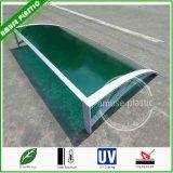 Fácil de montar policarbonato Porta Canopy Janela toldo Patio Covers