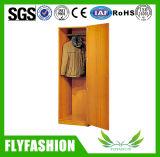 간단한 2개의 문 나무로 되는 옷장 침실 옷장은 침실 가구를 디자인한다
