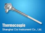 El profesional modifica el termocople para requisitos particulares, sensor de temperatura del termistor PT100