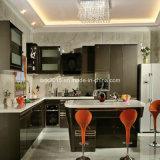 Alto gabinete de cocina brillante ULTRAVIOLETA moderno de la muestra K13-1