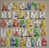 Hölzernes Alphabets u. Numbers mit Hand Painting (81461 u. 81462)