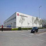 Costruzione della struttura d'acciaio per il magazzino di logistica