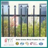 용접된 강철 말뚝 울타리 또는 장식적인 철 담 또는 용접된 말뚝 메시 담