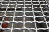 Acoplamiento de alambre prensado apertura rectangular