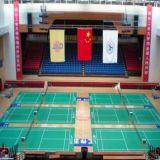 Assoalho do esporte do PVC do Badminton com padrão de Bwf