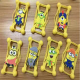 Universal al por mayor 3D Cartoon Silicone Mobile Phone Caso para iPhone6