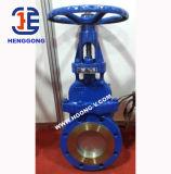 API/DIN Actuator van het roestvrij staal de Elektrische Klep van de Poort van het Mes van het Wafeltje van de Flens