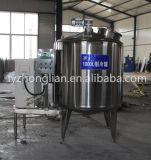 酪農場のためのBS1000高品質1000Lのステンレス鋼の低温殺菌器の殺菌装置