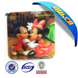OEM 3D Lenticular Cup Coaster do costume