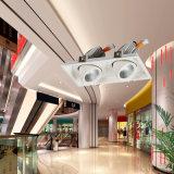상점 (M1502A-2)를 위한 독일 Osram 칩 LED 궤도 빛 천장 램프