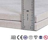 Panneau renforcé à haute densité de la colle de fibre de bord carré