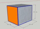 10FTの小型の移動可能な監視オフィスまたは店の容器