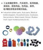 Peças de automóvel verticais da borracha de silicone que Vulcanizing a máquina da modelação por injeção feita em China