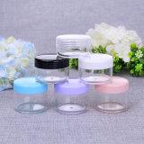 Leere Großhandelskosmetik des Umlauf-6ml als Plastikglas (NJ45)