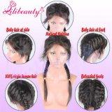 Парики шнурка Glueless бразильских человеческих волос девственницы полные с волосами младенца