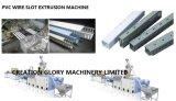 Automatischer beständiger Betrieb Belüftung-Draht-Schlitz-Strangpresßling-Produktionszweig