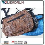 Zaino non tessuto di carta del sacchetto di mano della tela di canapa del cotone del cuoio del sacchetto di acquisto del regalo (X0764)