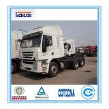 2017 الصين [إيفك] [جنلون] [380هب] جرّار شاحنة عمليّة بيع حارّ
