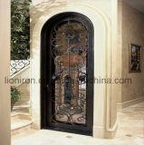 Porta dobro de ferro feito com as portas do ferro do leão da porta da estaca do Fio-Elétrodo