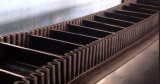 Zijwand Rubber Conveyor Belt met Skirt en Cleat Width 1800mm en 2200mm