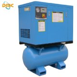 Fabricante profesional de compresor de aire de tornillo rotatorio impulsado por correa