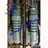 Soupape à vanne industrielle d'acier inoxydable de bride de cale de volant de commande d'API/DIN