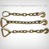 両方のホックが付いている結合の鎖端