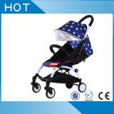 Venda por atacado material do carrinho de criança de bebê da liga de alumínio dos artigos novos do bebê e do pano de Oxford