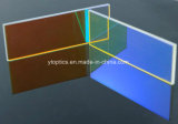 レーザーは473nm光学ダイクロイックミラーによって示す