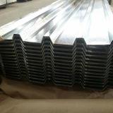 0.12-0.8mm波形を付けられた電流を通された鋼板金属の屋根ふきシート