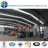 manta de la fibra de cerámica 10000t usada para la cadena de producción de materiales de aislante