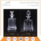Bottiglia eccellente del rum di vetro di silice in 550ml con sughero