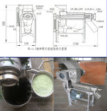Máquina do suco do gengibre do aço inoxidável do extrator do suco do extrator do sumo de laranja