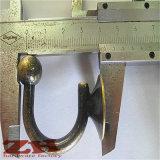 Beau crochet en alliage de zinc de guichet/rideau avec le cristal de couleur (ZH-2080)