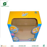 Nach Maß Paper Packaging Boxes mit PVC Window Fp600054